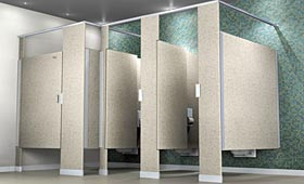 Commercial Bathroom Stalls on And Install A Complete Line Of Commercial Grade Restroom Partitions