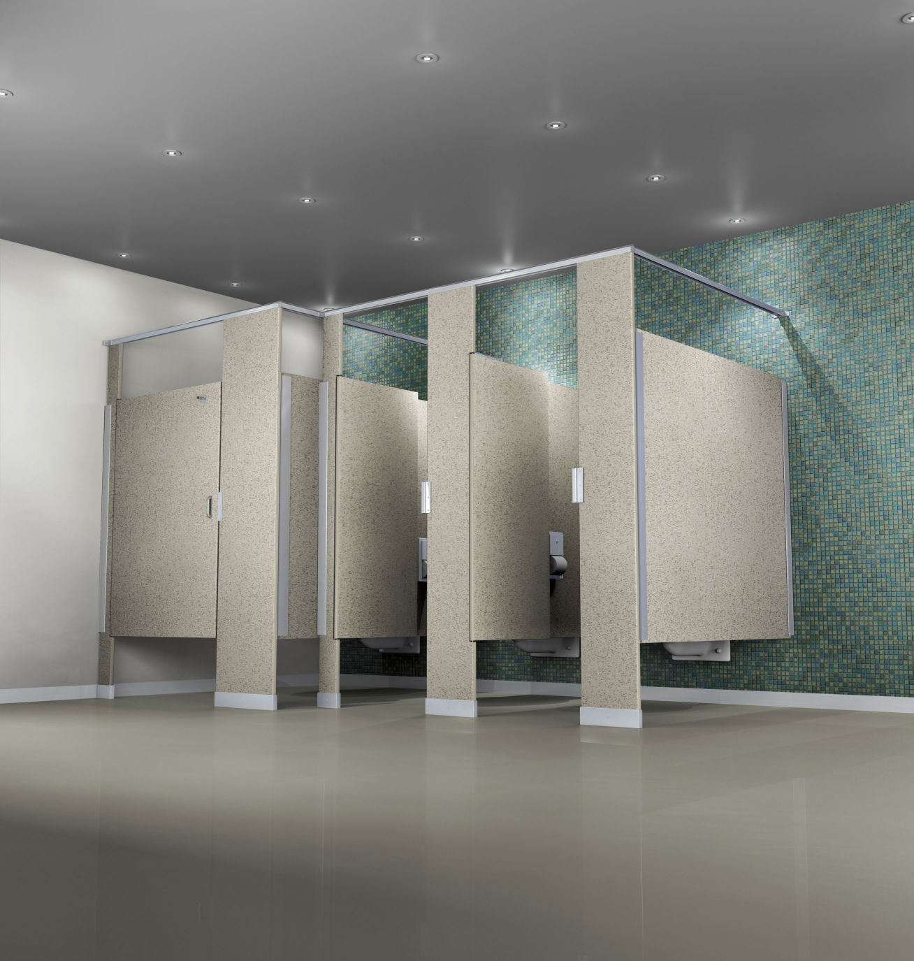 Commercial partitions commercial specialties for Bathroom partitions