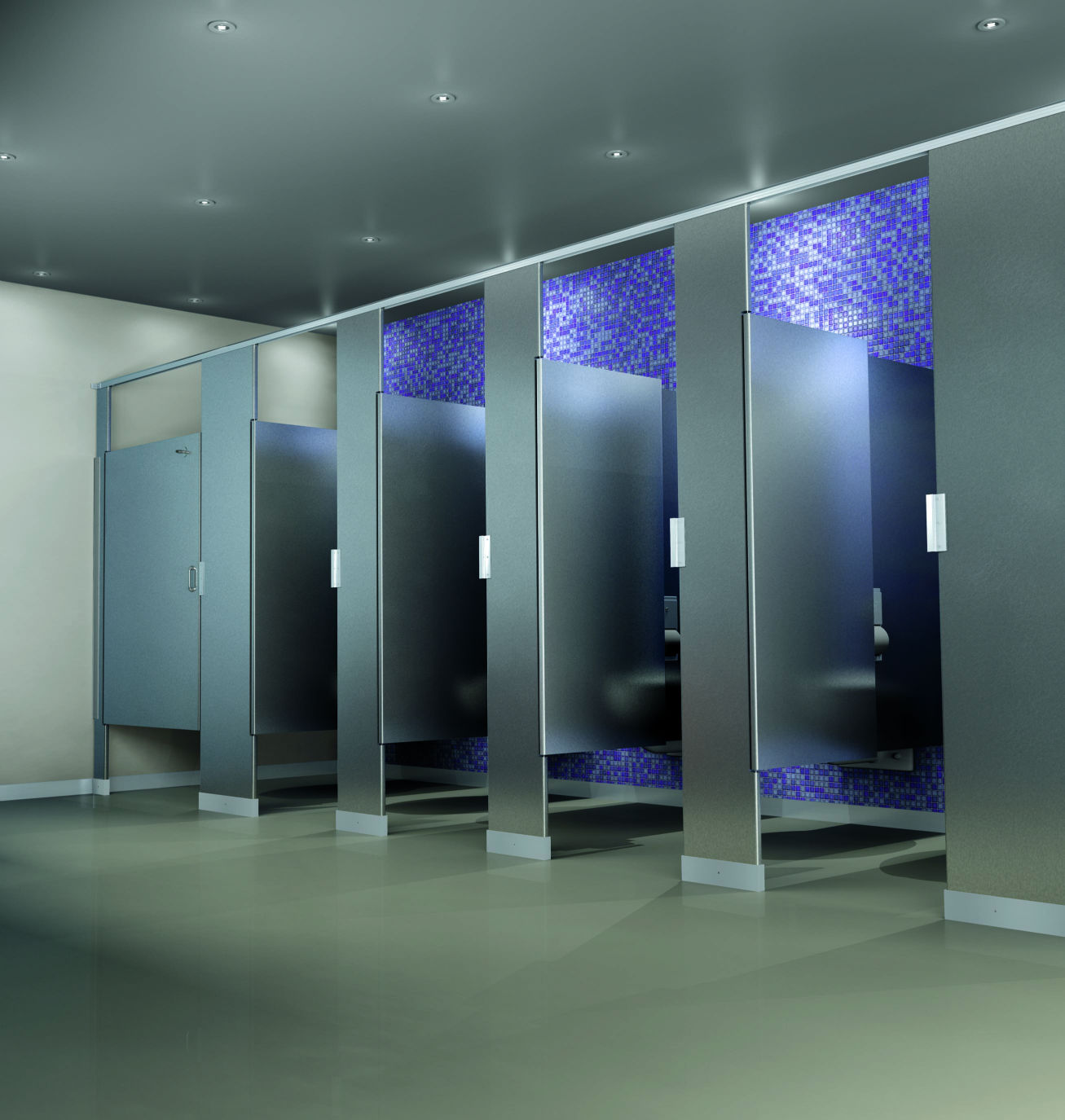 Commercial Bathroom Partitions Property commercial partitions | commercial specialties